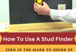 How To Use A Stud Finder – Zero In The Mark To Shore Up Heavier Items On the Wall